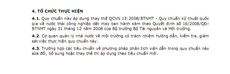 QCVN13-MT:2015/BTNMT-10