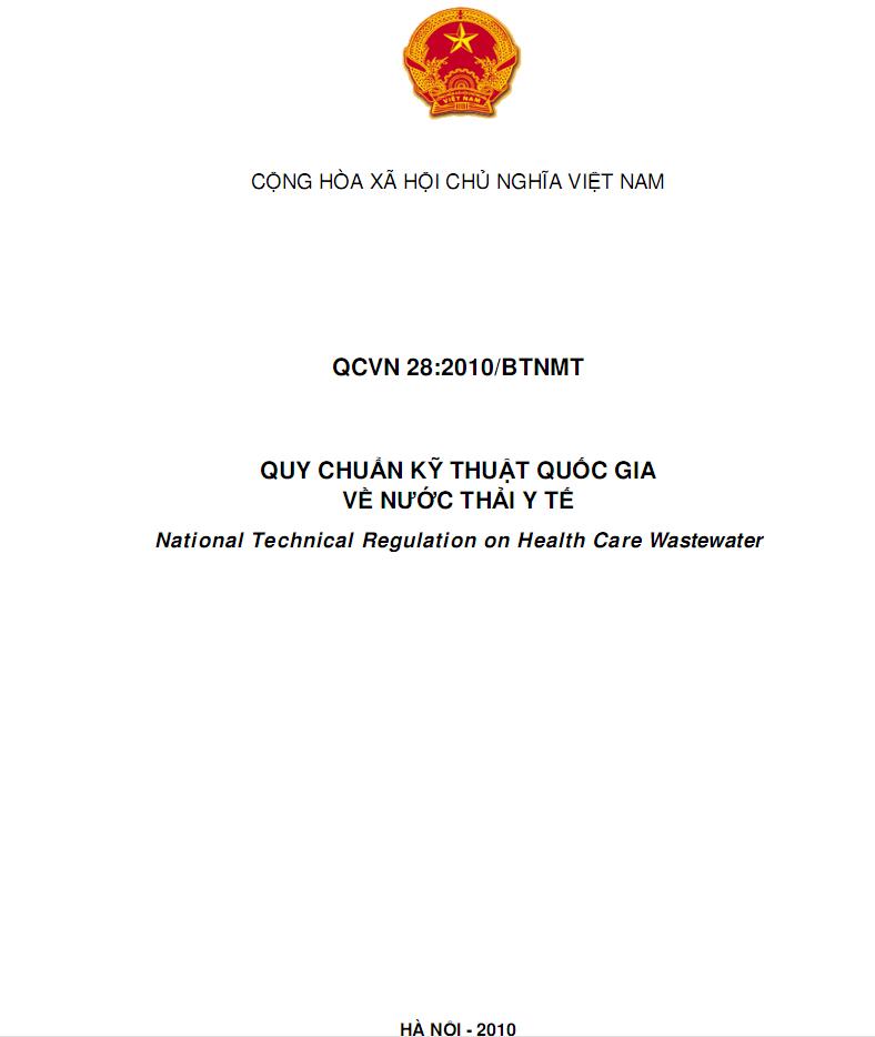 QCVN28:2010/BTNMT-1