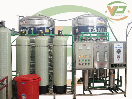 dây chuyền lọc nước công suất 1200L/h