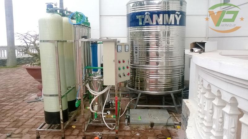 dây chuyền lọc nước công suất 1000L/h
