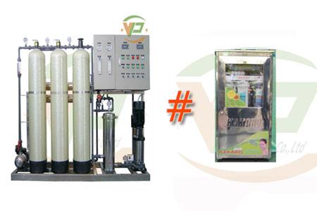 máy lọc nước công nghiệp khác máy lọc nước gia đình