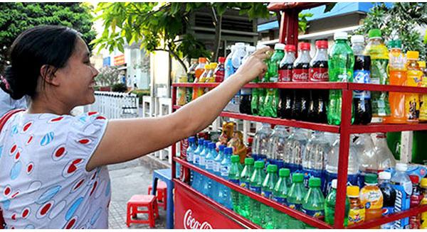 nước ngọt có ga gây hại cho sức khỏe