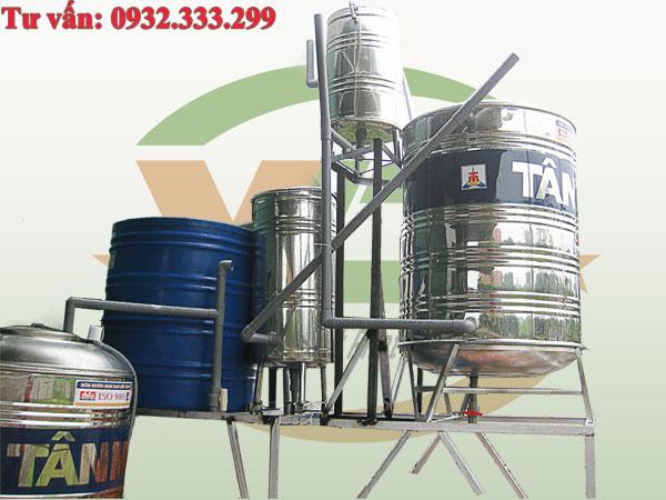 hệ thống lọc thô, lọc nước giếng khoan, hệ thông lọc nước giếng khoan, xử lý nước giếng khoan