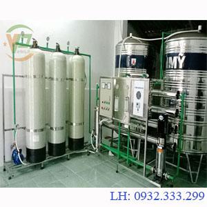 Dây chuyền lọc nước tinh khiết công suất 3.000 L/H