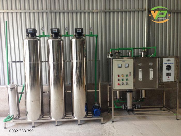 Dây chuyền lọc nước tinh khiết công suất 30.000 L/H