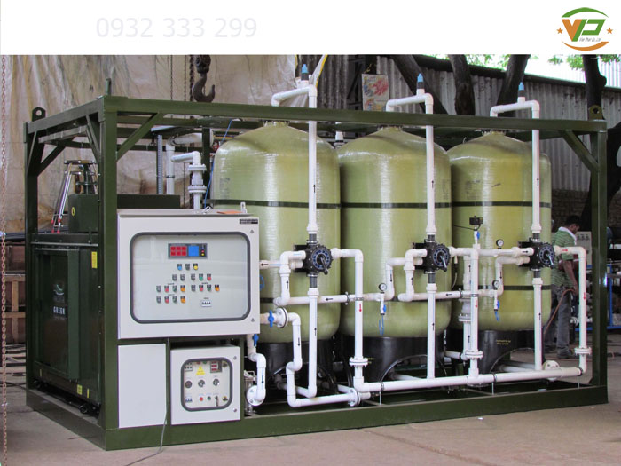 Hệ thống lọc nước cho resort nghỉ dưỡng