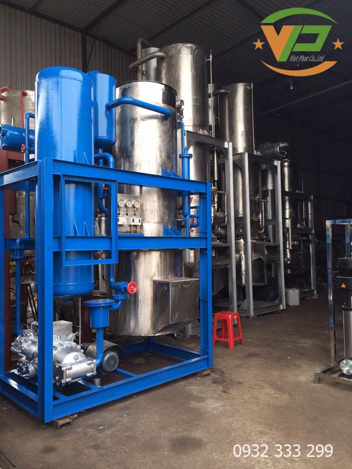 Máy sản xuất đá viên tinh khiết quy mô công nghiệp