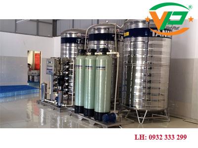 Dây chuyền lọc nước tinh khiết công suất 1800 L/H