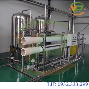 Dây chuyền lọc nước tinh khiết công suất 5.000 L/H