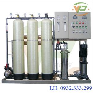 Dây chuyền lọc nước tinh khiết công suất 500 L/H