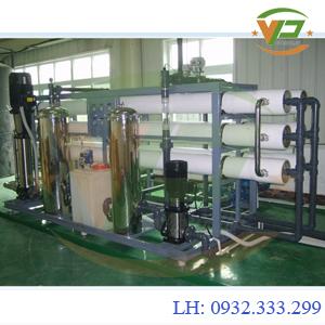 Dây chuyền lọc nước tinh khiết công suất 7.500 L/H