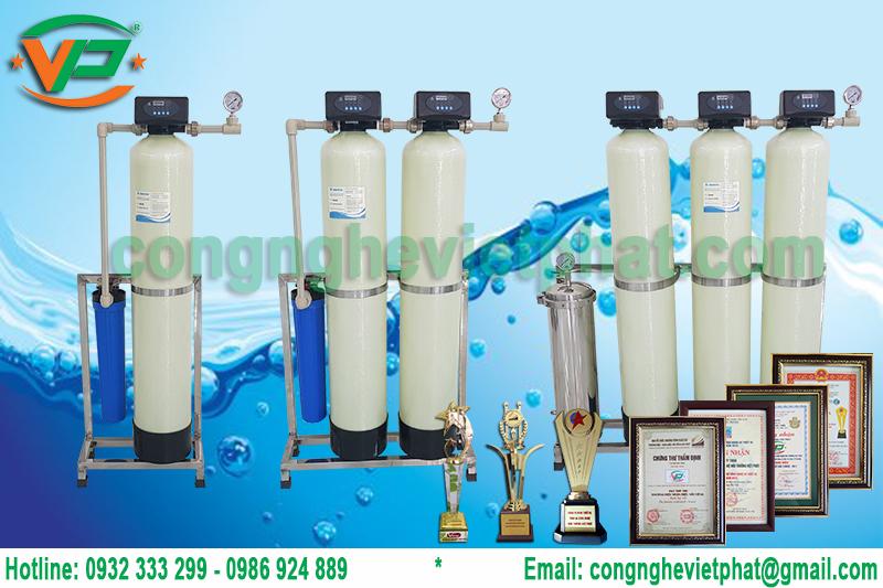 Hệ thống lọc nước sinh hoạt gia đình Việt Phát
