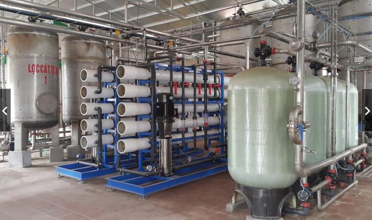 Hệ thống nước cấp cho nhà máy bia