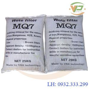 Vật liệu lọc MQ7 xử lý Fe, Mn, As, H2S